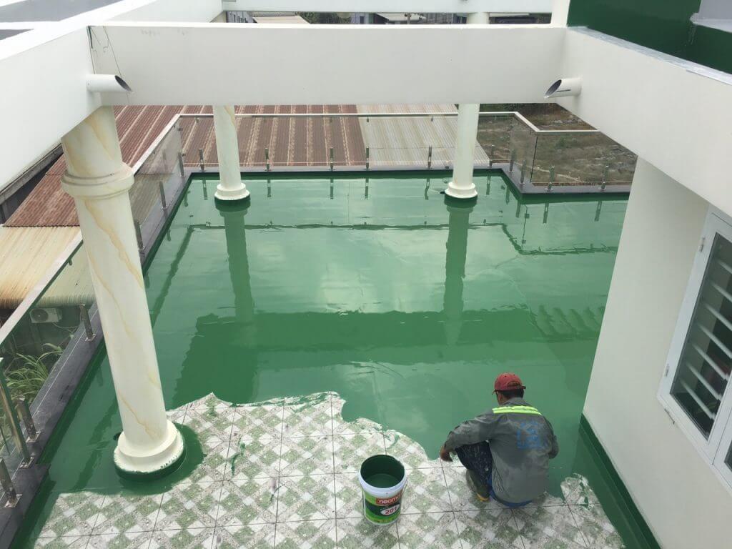 Chống thấm sàn nhà, trần nhà an toàn cùng Sửa Chữa Điện Nước Nam Tín