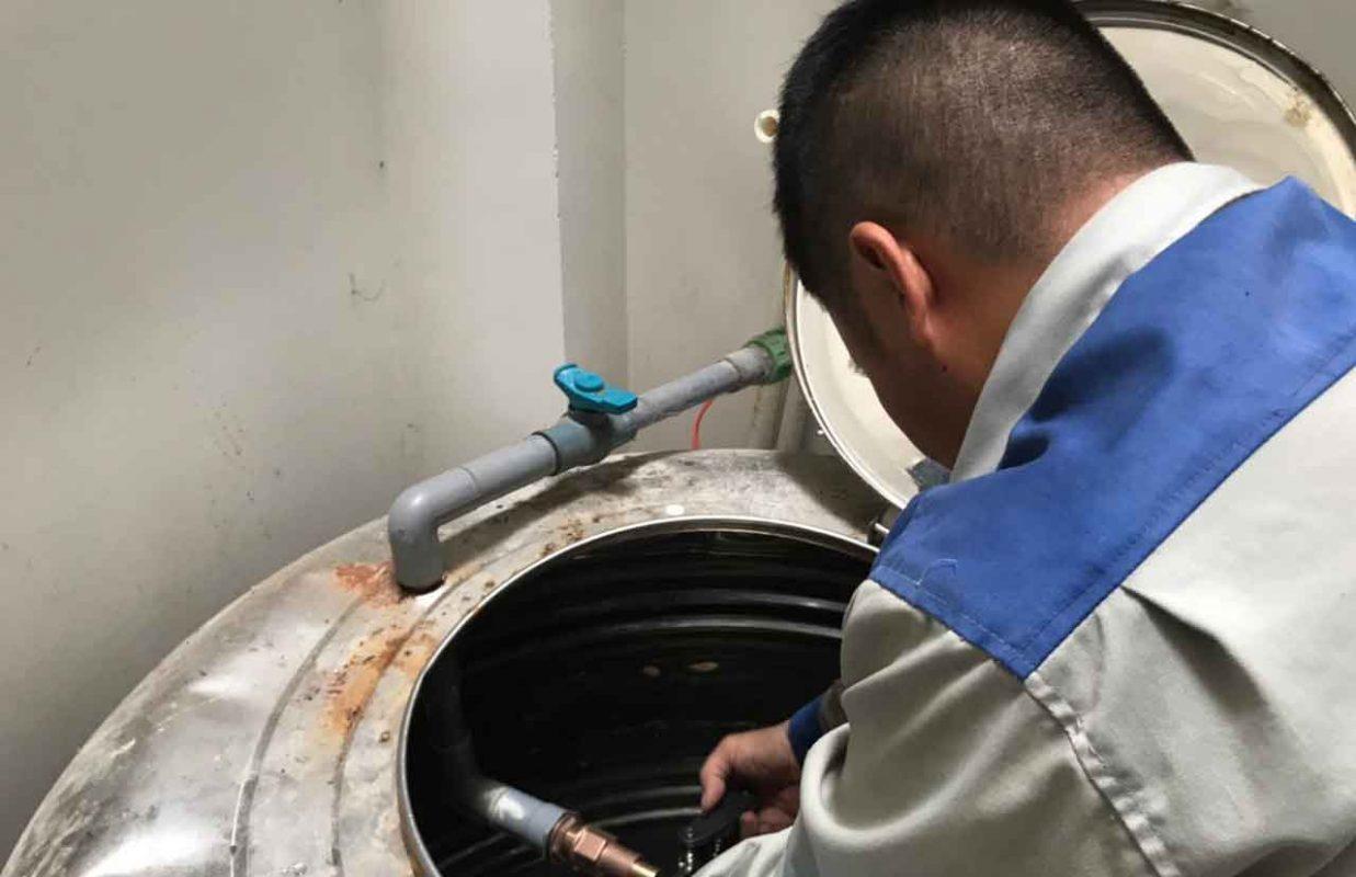 Quy trình vệ sinh bồn nước